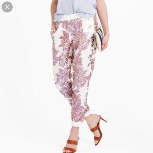J Crew Collection - iridescent seaside pants.